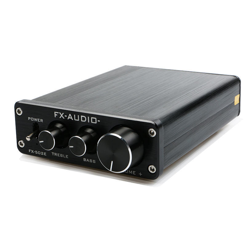 FX-Audio FX502E Hifi 2,0 altavoz de la computadora de alta potencia Digital puro amplificador de Audio NE5532P potencia de salida 68 W * 2