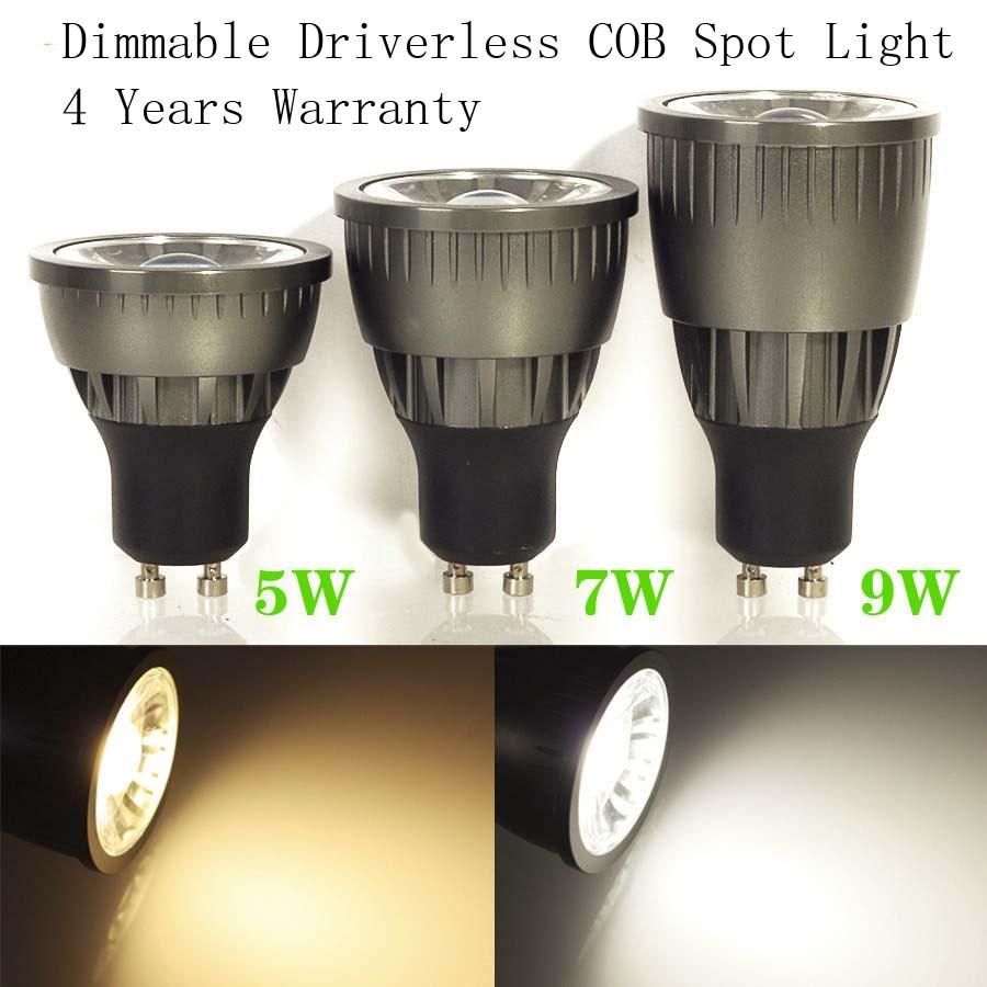 driverless cob 5w 7w 9w spot light-1