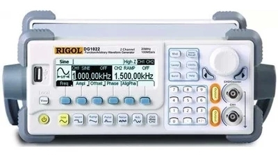 Fast arrival RIGOL DG1022U Updated from DG1022 Signal Generator 2 Channel 25 MHz Function Waveform Signal Generator цена