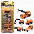 Fundición A Presión de Mini Coche Camión Modelo de Coche de Aleación De Vehículos de Transporte Barato Coche de juguete de Regalo de Alta Calidad China Tractor Grúa de Juguete Niños juguetes