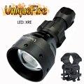Новый Upgrad охотничий фонарик UniqueFire 1504 xre-светодиоды 1 режим с креплением для прицела практичный зеленый/красный свет Бесплатная доставка