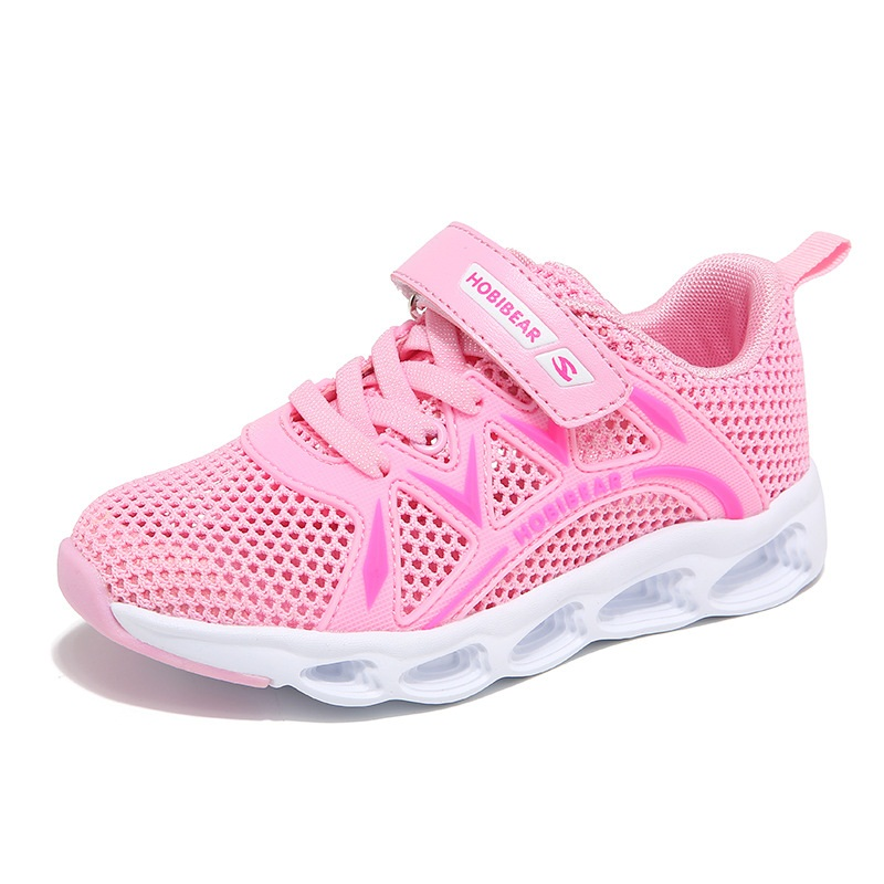 Mother & Kids Sneakers Rational Girls Children Mesh Casual Shoes Breathable Soft Running Sports Shoes Kids Outdoor Footwear Protect Feet Shoes Aa51156