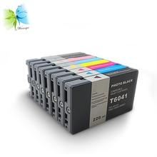 Winnerjet 8color 220ML Full pigment ink cartridge for Epson stylus pro 7800 9800 7880 9880 printer epson 220ml yellow stylus pro 4800