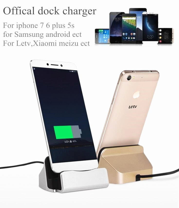 universal android dock charger micro usb type c usb c docking stand station charging sync dock. Black Bedroom Furniture Sets. Home Design Ideas