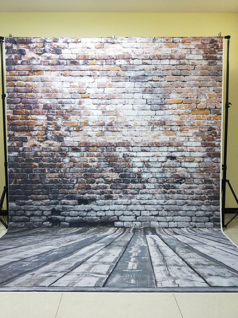 HUAYI 8x12ft(2.5x3.75m) brick paper brick wall backdrop vinyl photography backdrops photo props brick background D-3489 photography backdrop wooden car brick wall background vinyl backdrops for photography page 2