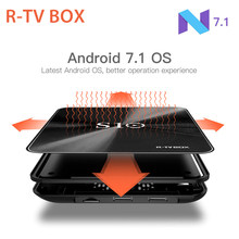 R-TV BOX S10 S912 Octa Core KODI 17.3 DDR4 3GB eMMC 32GB Android 7.1 4K Smart TV Box AC WIFI Gigabit LAN Bluetooth 4.1 3D