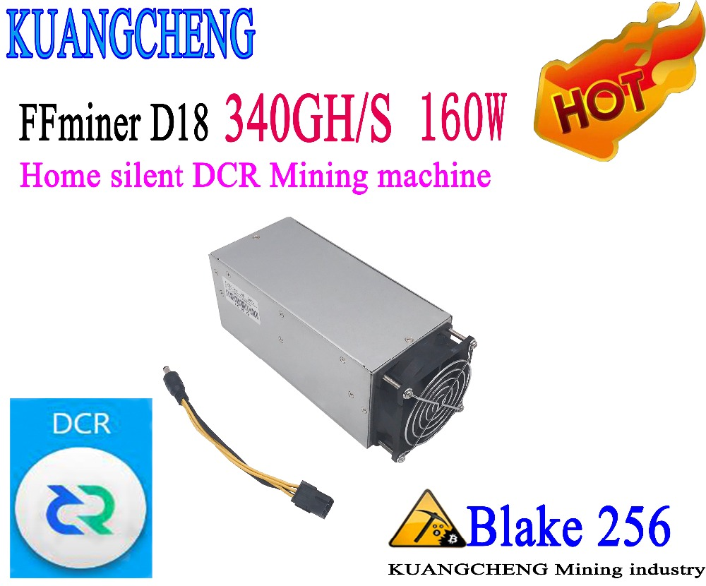 KUANGCHENG Mining FFminer D18 340GH/S 160W Mini And Low Noise Cost-effectiveness Is Higher It's Better Than Z9 Mini S9, L3,V9