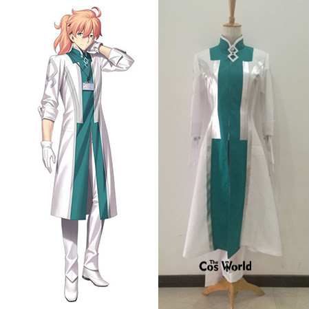 FGO Fate Grand Order Dr Doctor Romani Archiman Uniform Coat Pants Outfit Anime Cosplay Costumes