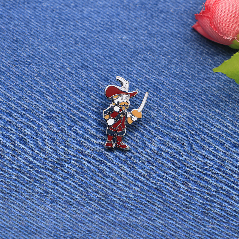 Sport Brooches Knight Enamel Pin for Girls Boys Lapel Pin Hat/bag Pins Denim Jacket Shir ...