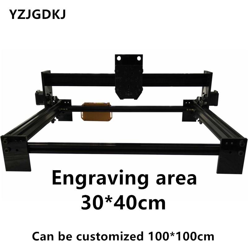 TTL Controller 30cm 40cm Large Area DIY Laser Engraving Machine Frame Diy Marking Machine Can Be