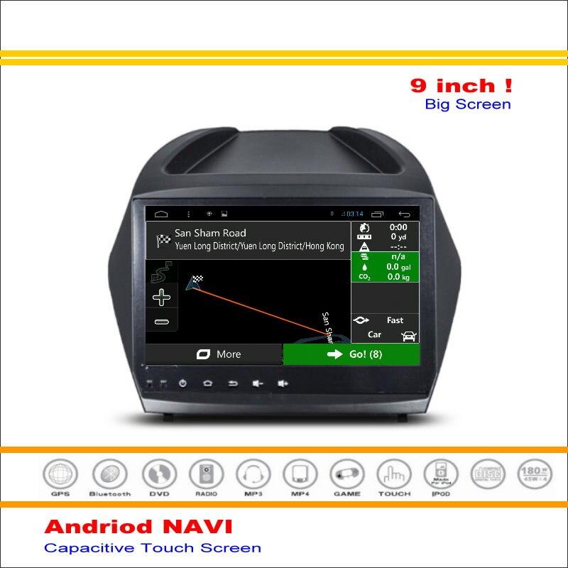Coche Android Sistema de Navegación GPS Navi Para Hyundai Tucson ix35 2015 -Radi