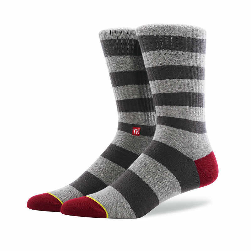PEONFLY Erkek Çorap Kalınlaştırılmış Topuklu ve Ayak Parmakları Çizgili Güz Kış sıcak Çorap Sıkıştırma Coolmax Marka Erkek Çizme Çorap