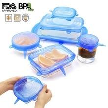 Универсальная силиконовая крышка на присоске, 2 шт., легкая вакуумная уплотнительная растягивающаяся чаша, кастрюля, кастрюля, крышки, аксессуары для кухонной посуды