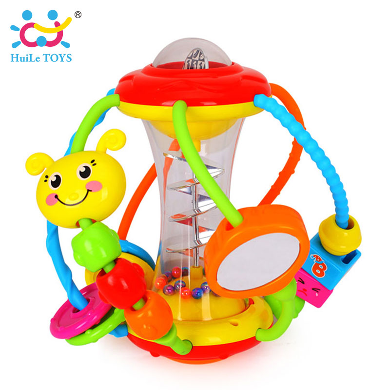 HUILE-TOYS-Baby-Toys-Ball-929-Baby-Rattles-Educational-Toys-for-Babies-Grasping-Ball-Puzzle-Multifunction-Bell-Ball-0-18-Months-2