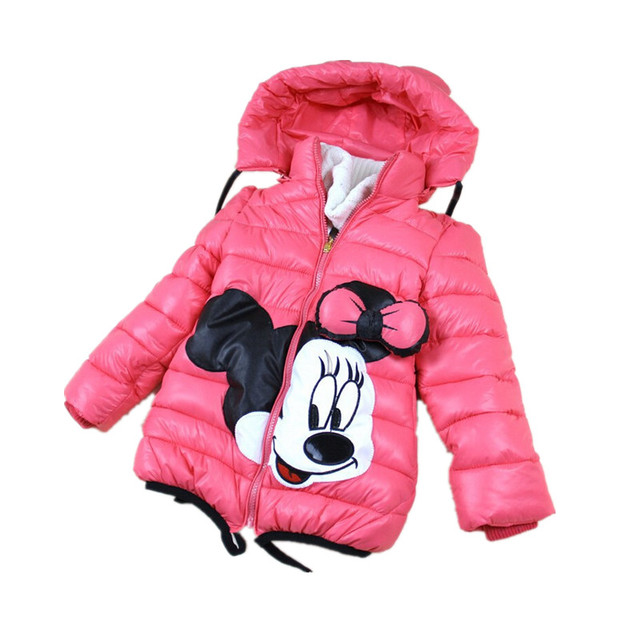 2-7Yrs Baby Girls Winter Jacket&Coat,Children Winter Warm High quality Cotton-padded Outwear&Coat,Baby Boys&Girls Jacket