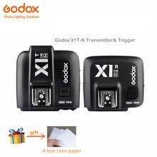 Godox X1N i-TTL 2.4G Transmissor Sem Fio de 2.4 GHz e Gatilhos kit receptor Para Nikon D800 D3 D3X D2X D2H D1H D1X