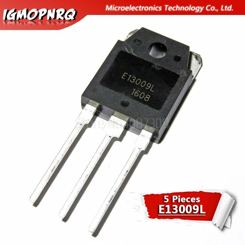 5pcs E13009L NPN Transistor Channel J13009 12A400V 13009 New Original