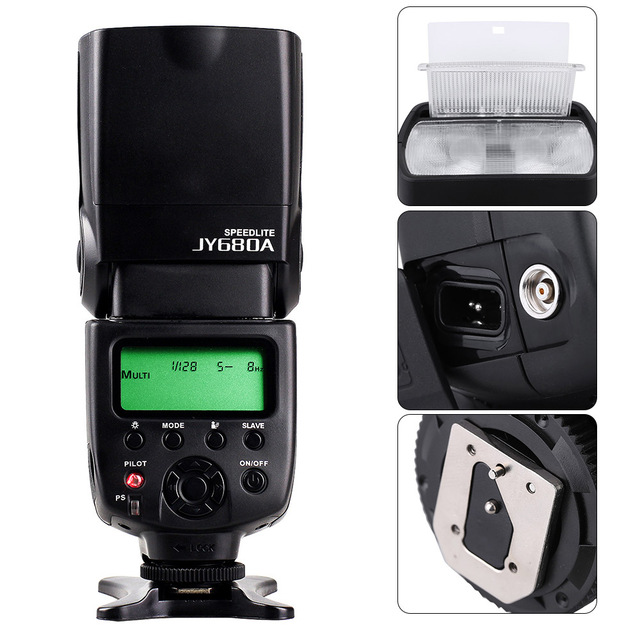 Universal DSLR Camera With LCD Screen And Backlight