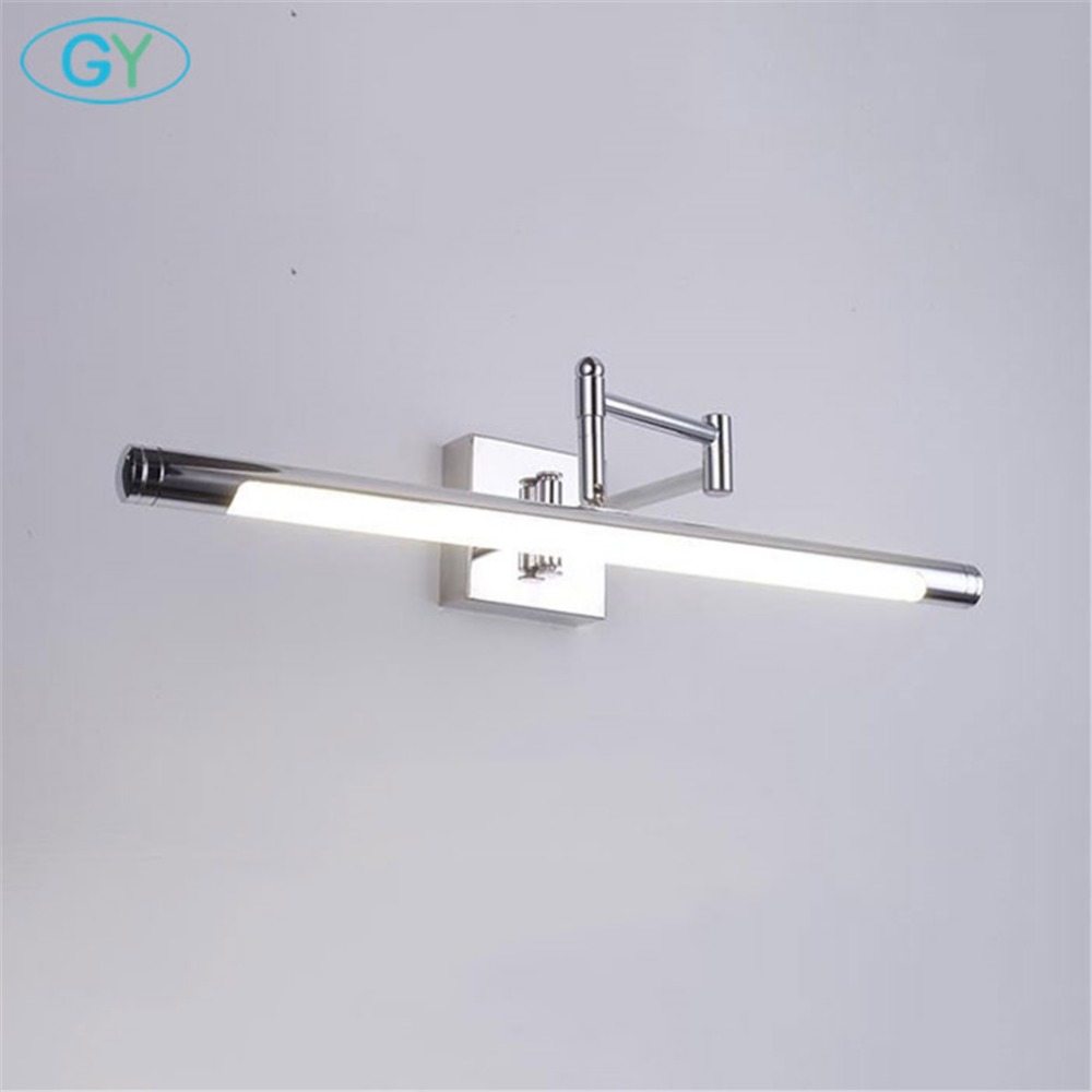 Modern LED Vanity Lights with D10cm square round base,Industrial ...