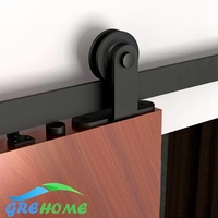Global Free Shipping 4 9FT 6FT 6 6FT Carbon Steel Sliding Door Hardware