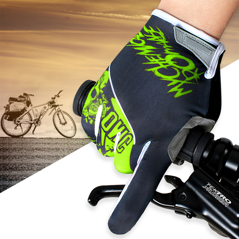 Breathable Full Finger Non-slip Cycling Gloves Men/Women Motorcycle Bike Gloves MTB Outdoor Sports Protect Equipment S-XL