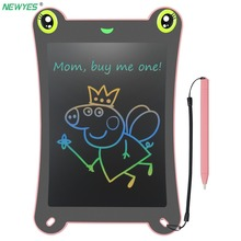 NEWYES Digital Graphic Tablet 8.5 inch LCD Drawing Board Electronic Writing Tablet Pad Art Colorful Display Kids Gift With Pen