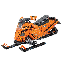 Technic Turbo Snowmobile Moto Snow Motorcycle Motorbike Building Blocks Compatible Legoings Educational DIY Bricks Toys 550pcs diy hot technic series motorbike bricks motorcycle car bicycle building blocks toys for boys compatible with legoingly