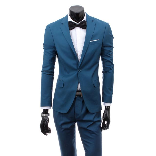 2016 Mens Custom made Light Grey Ternos Calças Jacket Vestido Formal Conjunto Terno dos homens ternos de casamento do noivo smoking Dos Homens (jaqueta + calça)