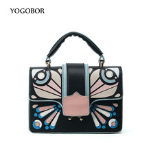 Luxury Women PU Leather Bag Patchwork Messenger Bags Handbags Women Famous Brands Designer Female Flap Totes Shoulder Bag Sac