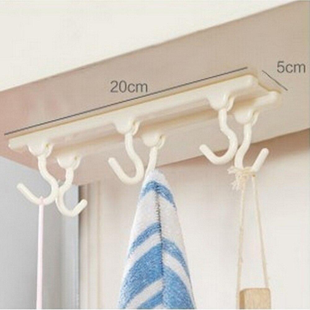 Kitchen Ceiling Hanging Rod Kitchen Storage Rack Hooks