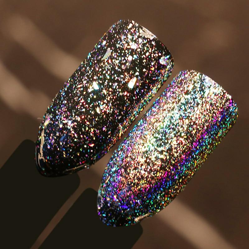0.2g Galaxie Holo fulgi Bling Laser cuie Sequins Praf Holografic - Manichiură