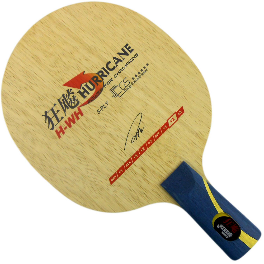 Table Tennis Blade for Ping Pong Racket penhold short handle CS DHS Hurricane H-WH H WH Quick attack and Loop шрамы 3d blu ray