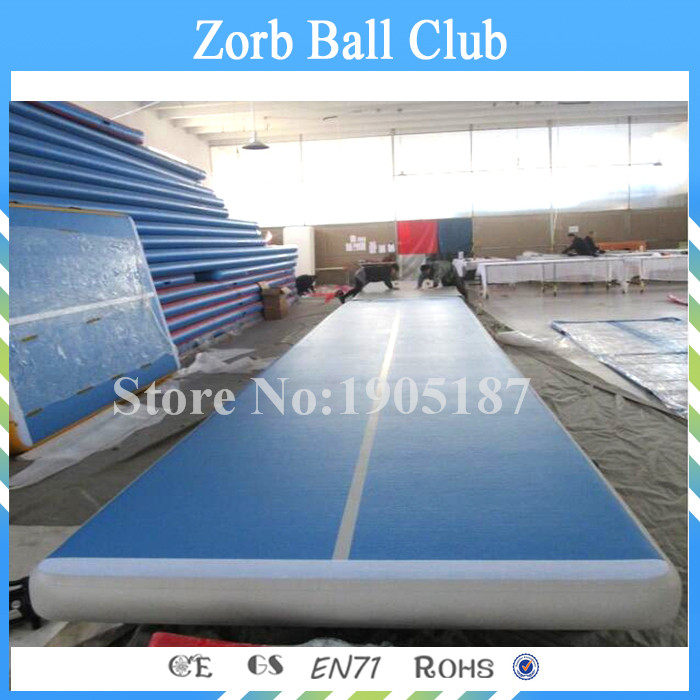 Free Shipping Free Pump 6x1x0 2m Blue Airtrack Factory