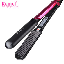 2017 Sale New Modelador De Cachos Electric Hair Comb Straight Clamps Ceramic Straighteners Do Not Hair Corn Curtains Optional