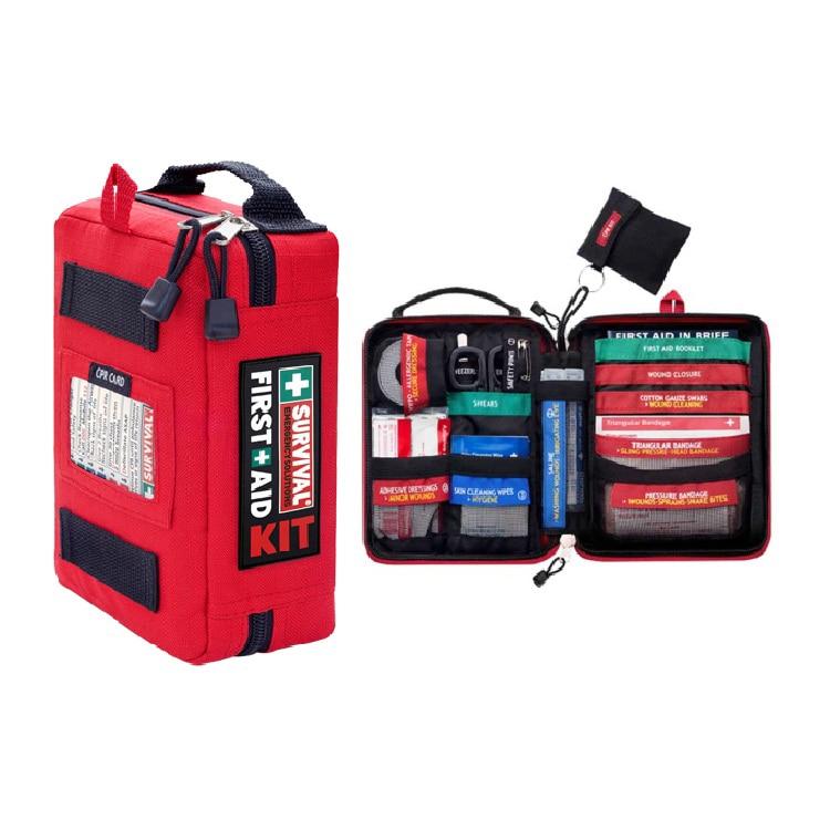Mini First Aid Kits Gear Medical Trauma Kit Car Emergency Kits Lifeguard Rescue Equipment Survival Kit Military(China)