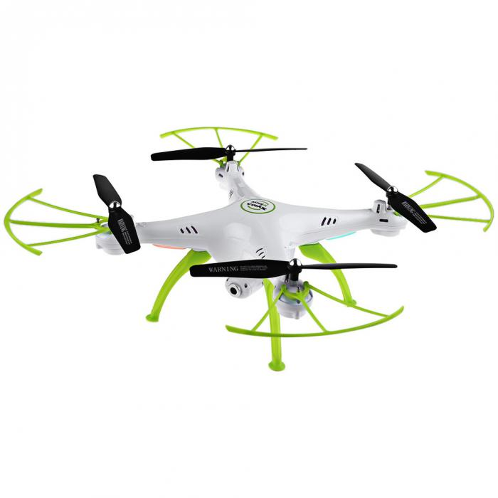 X5HW 2.4G RC Drone Quoadcopter with HD Camera FPV 4CH Helicopter FJ88