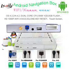 Car Android Navigation Interface Box for 2013-2016 Volkswagen Touareg 8″
