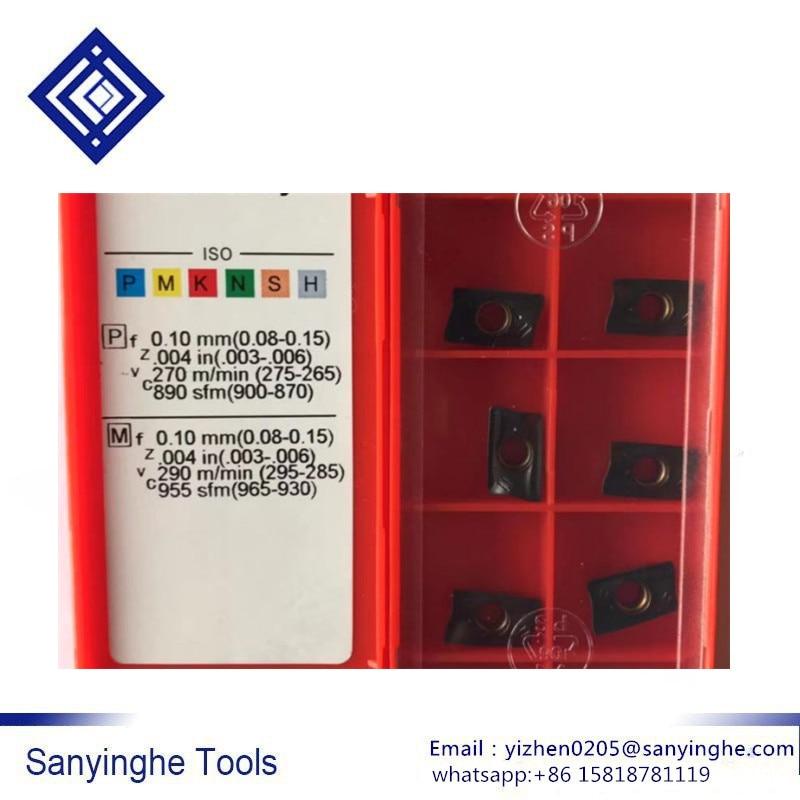 free shipping high quality 50pcs lots R390 11T304M PM 1030 R390 11T308M PM 1030 cnc carbide