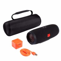 Wireless Bluetooth Speaker Case Soft Silicone Cases Bag For JBL Charge3 Bluetooth Speaker Portable Cover Travel