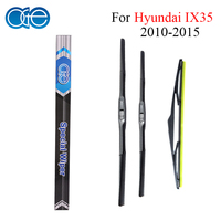 Combo Silicone Rubber Front And Rear Wiper Blades For Hyundai IX35 2010 Onwards Windscreen Wipers Car