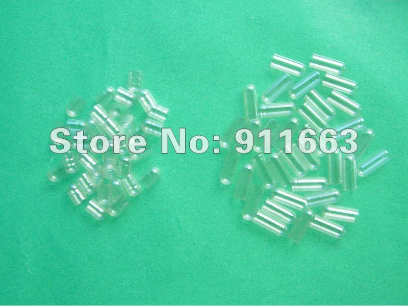 Halal 00 2 000pcs Clear Clear HPMC vegetarian empty capsules Vegetable capsules Plant origin Joined or