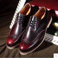 New Spring Men Casual Shoes Business Breathable Formal Dress Shoes For Man Oxfords Genuine Leather Flats Shoes 98