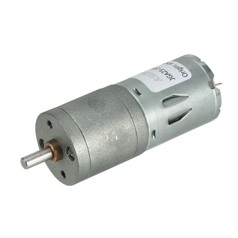 <font><b>12V</b></font> 10/60/120/<font><b>150</b></font>/<font><b>RPM</b></font> <font><b>DC</b></font> <font><b>Motors</b></font> 4mm Diameter Shaft Electric Gear Box Speed Reduce Replacement <font><b>Motor</b></font> 2 Terminals Connectors image