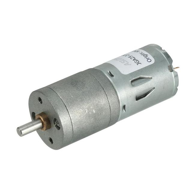 12V 10/60/120/150/RPM DC Motors 4mm Diameter Shaft Electric Gear Box Speed Reduce Replacement Motor 2 Terminals Connectors