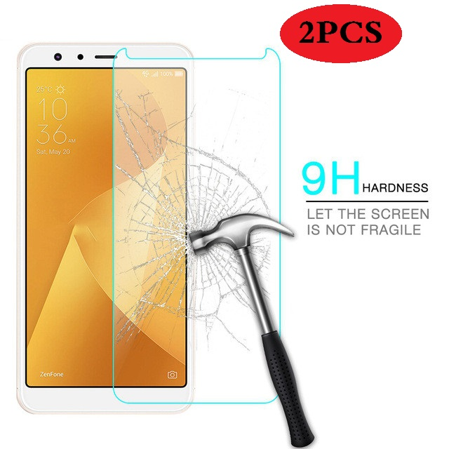 2PCS Screen Protector Glass Asus Zenfone Max Plus ZB570TL Tempered Glass For Asus Zenfone Max Plus M1 ZB570TL Glass X018D Film