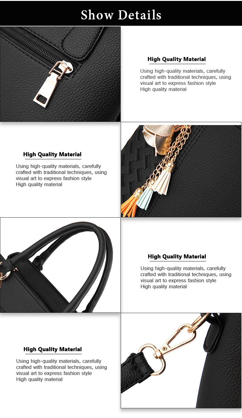 STSR Leather Clutch Bag Female Handbag Luxury Beach Tote Ms. Fringe Shoulder Bag Tote gray one size 14