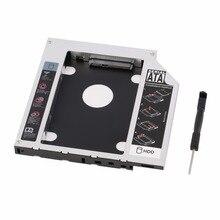 Новый карман для жесткого диска Serial ATA жесткий диск HDD SSD адаптер Caddy лоток для ПК ноутбука компьютера Прямая доставка