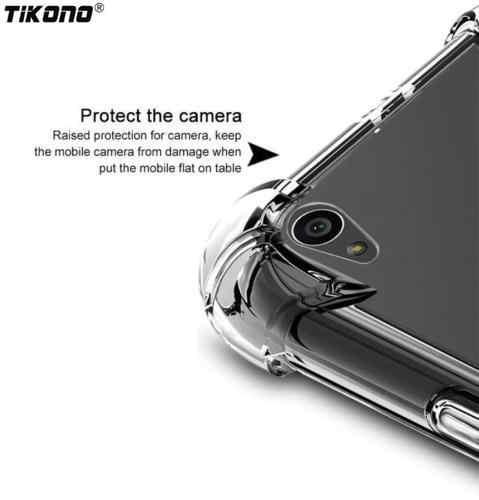 Corners Shock-Proof Soft TPU Case Skin for Nokia 1 2 / 3 / 5 / 6 / 7 / 8 / 9 2.1 3.1 5.1 6.1 X3 X5 X6 X7 7Plus Clear Case Cover