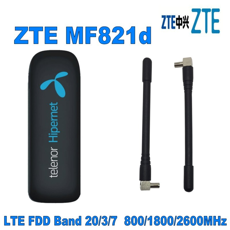 3g-modems Romantisch Entsperrt Zte Mf821d Mit Antenne 100 Mbps 4g Lte Mobile Broadband Modem