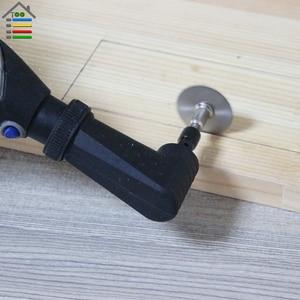 Image 5 - AUTOTOOLHOME fixation pour outil rotatif noir à Angle droit 90 Dgree adapté à la meuleuse électrique Dremel 4000 3000 275 8100